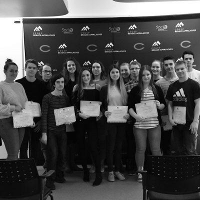 Photo des récipiendaires des bourses de la Fondation Automne 2018