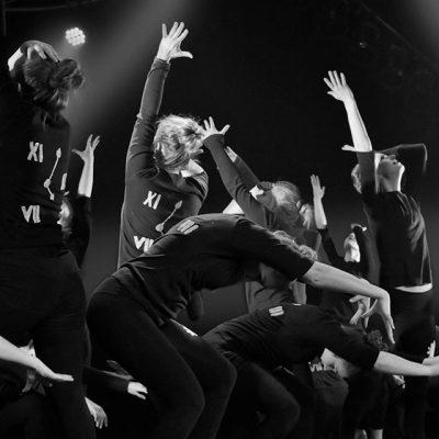 Photo groupe de danseuses