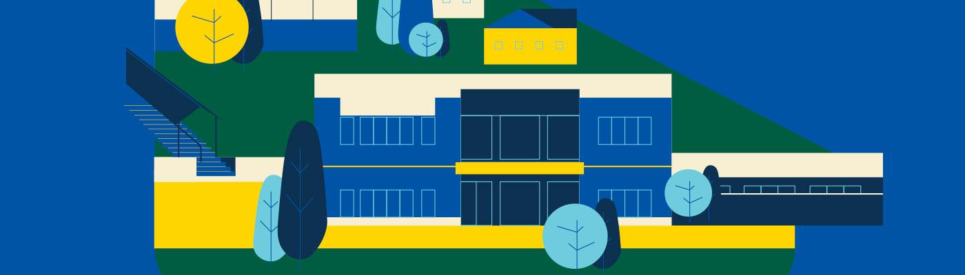 Illustration du Centre d'études collégiales de Sainte-Marie