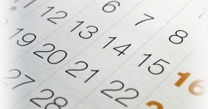 Bannière calendrier