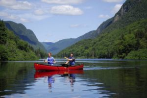 Faire du Kayak entre amis